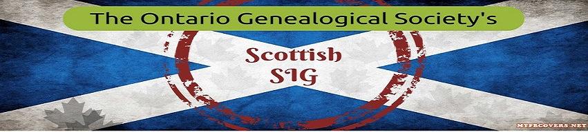 Scottish SIG | Ontario Genealogical Society